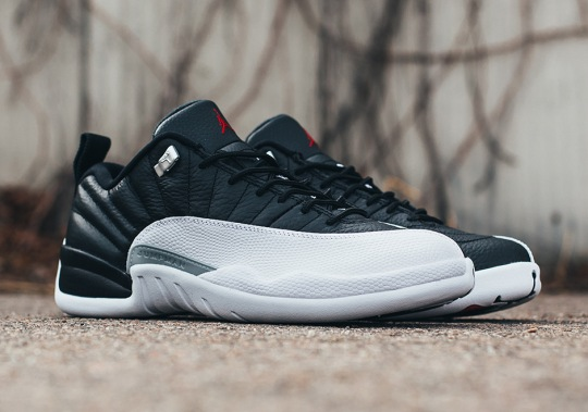 "Where To Buy The Air Jordan 12 Low ""Playoffs"""