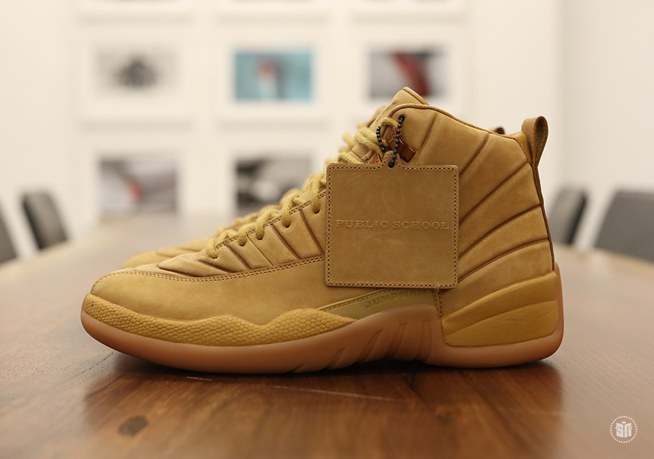 "PSNY x Air Jordan 12 ""Wheat"" Set To Release Later This Year"