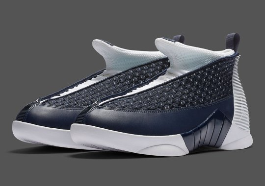 "The Air Jordan 15 ""Obsidian"" Releases On March 4th"
