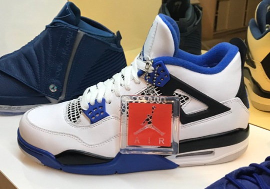 "Air Jordan 4 ""Motorsports"" And More Available At Jordan Pop-Up At New Orleans All-Star"