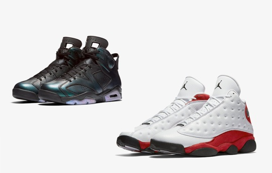 Nike Early Access to Air Jordan 6 All Star & Air Jordan 13 OG