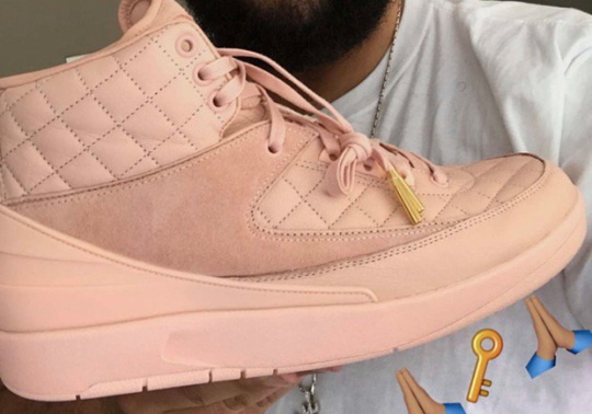 "DJ Khaled Offers A Look At The Just Don x Air Jordan 2 ""Arctic Orange"""