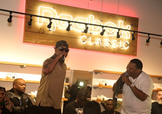 Juvenile and Mannie Fresh Rock New Orleans For Launch of Sneaker Politics x Humidity x Reebok Workout Lo