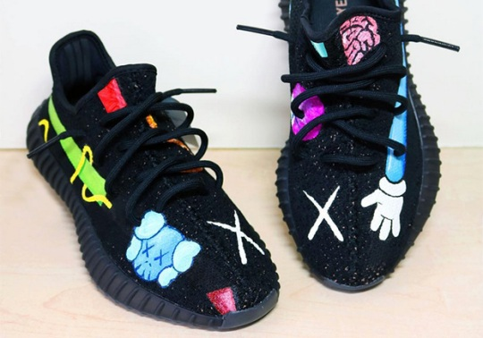 What If There Was A KAWS x adidas YEEZY Collaboration?