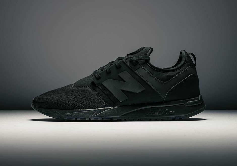 new balance 247 black and white