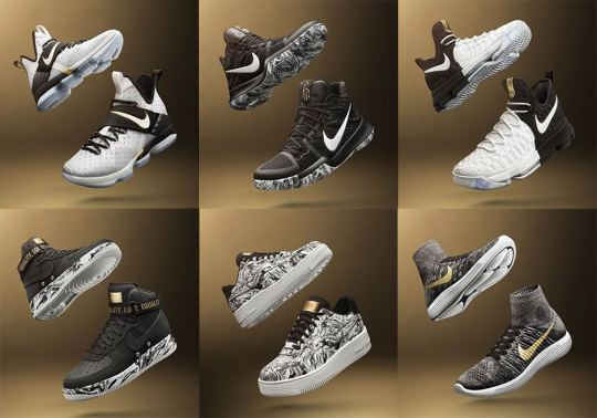 Nike's 2017 BHM Collection Features Basketball Signatures And More