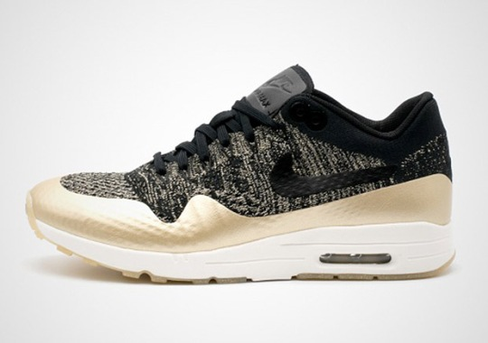 """Nike Sportswear """"Metallic Gold"""" Flyknit Pack For Women Releases In March"""