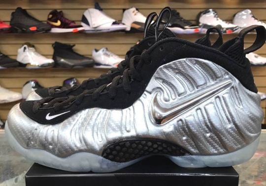 """Detailed Look At The NIke Air Foamposite Pro """"Silver Surfer"""""""