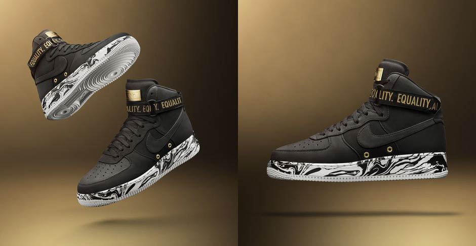 Nike Air Force 1 High BHM Global Release Date: February 16th, 2017