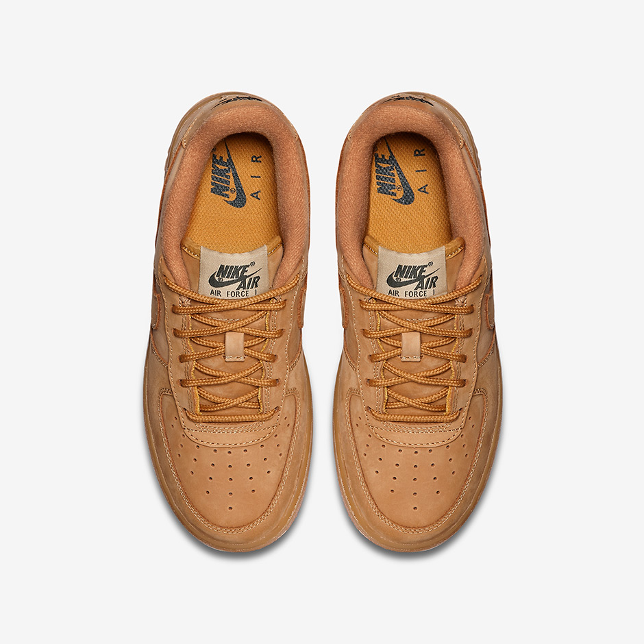 Nike Air Force 1 Low GS Color FlaxFlax