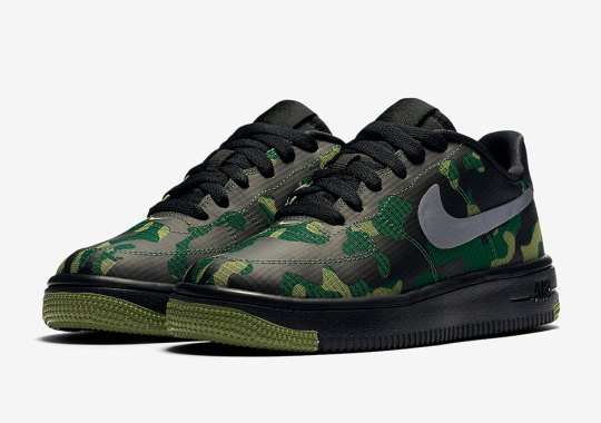 Nike Outfits The Ultraforce With Camo Ripstop Nylon Uppers