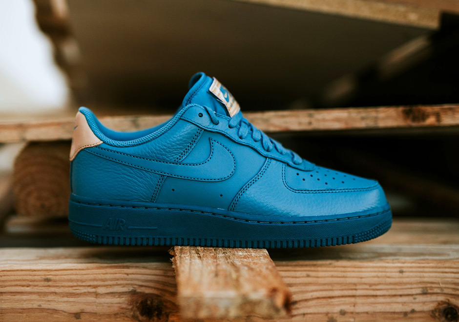 nike air force 1 low smokey blue 718152 017. Black Bedroom Furniture Sets. Home Design Ideas