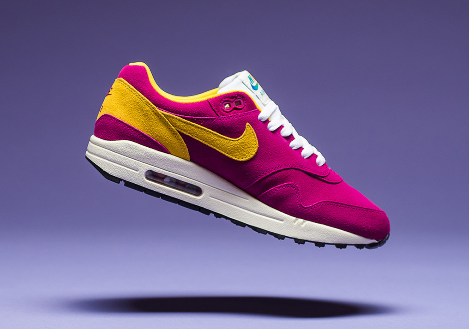 the latest 8d5e3 7dbb5 Nike Air Max 1 30th Anniversary Berry Vivid Sulfur ( 875844-500)    SneakerNews.com
