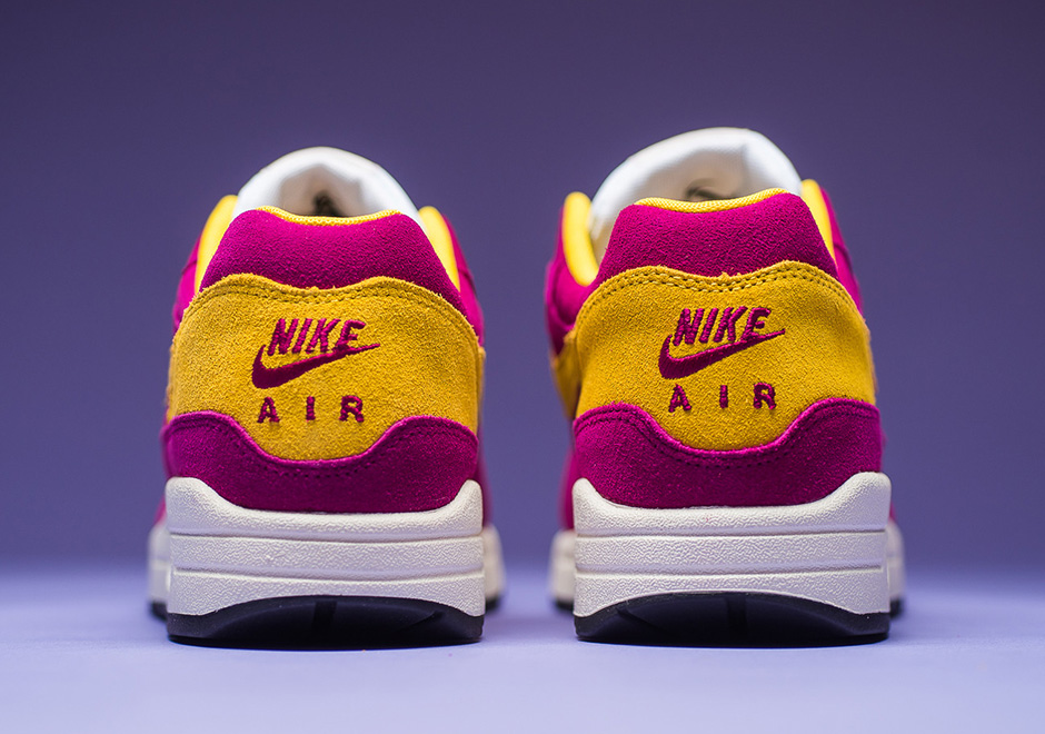 the latest d6f0e d81a4 Nike Air Max 1 30th Anniversary Berry Vivid Sulfur ( 875844-500)    SneakerNews.com