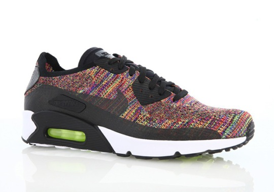 """best loved 900e9 07d2e There s Another """"Multi-Color"""" Version Of The Nike Air Max 90 Flyknit"""