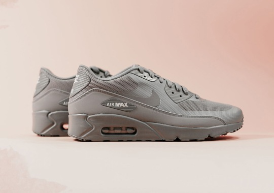 The Nike Air Max 90 Ultra 2.0 Goes Tonal Grey