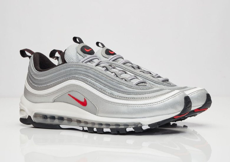 "quality design 05572 bda1e Where To Buy The Nike Air Max 97 OG QS ""Silver Bullet"""