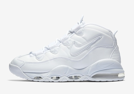 The Nike Air Max Uptempo Is Releasing In Triple White