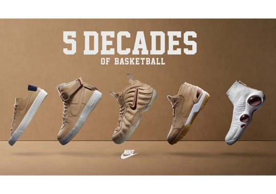 Nike Celebrates 5 Decades Of Basketball