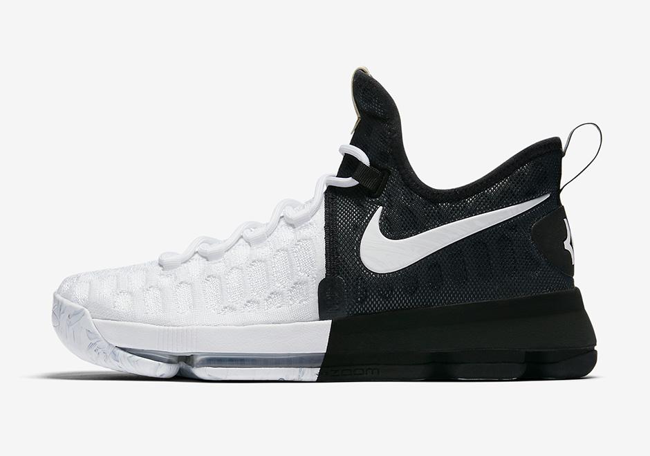 best sneakers 916e5 31290 Nike KD 9 BHM Release Date Info 860637-100 | SneakerNews.com