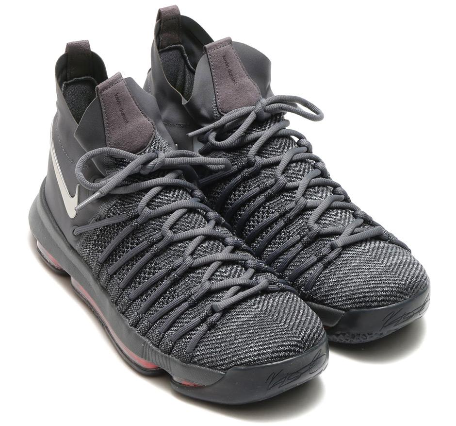 9fa347335184 Nike KD 9 Elite Dark Grey 909140-013