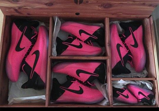 Nike Gives Kobe's Entire Family Pink Kobe AD PEs