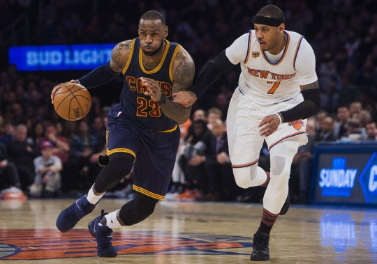 LeBron Becomes Youngest Player To Tally 28,000 Points In New LeBron 14 PE Vs. Knicks
