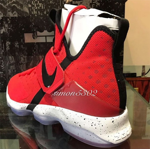 Nike LeBron 14 Red Black Release Info 852405-600  1d159fb10cfc