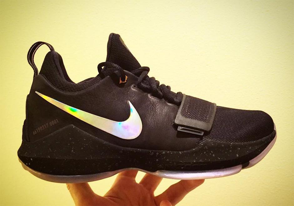 lowest price 59bf9 1c7d4 Nike PG 1 Pre-Heat Debut Paul George Shoe Color  SneakerNews