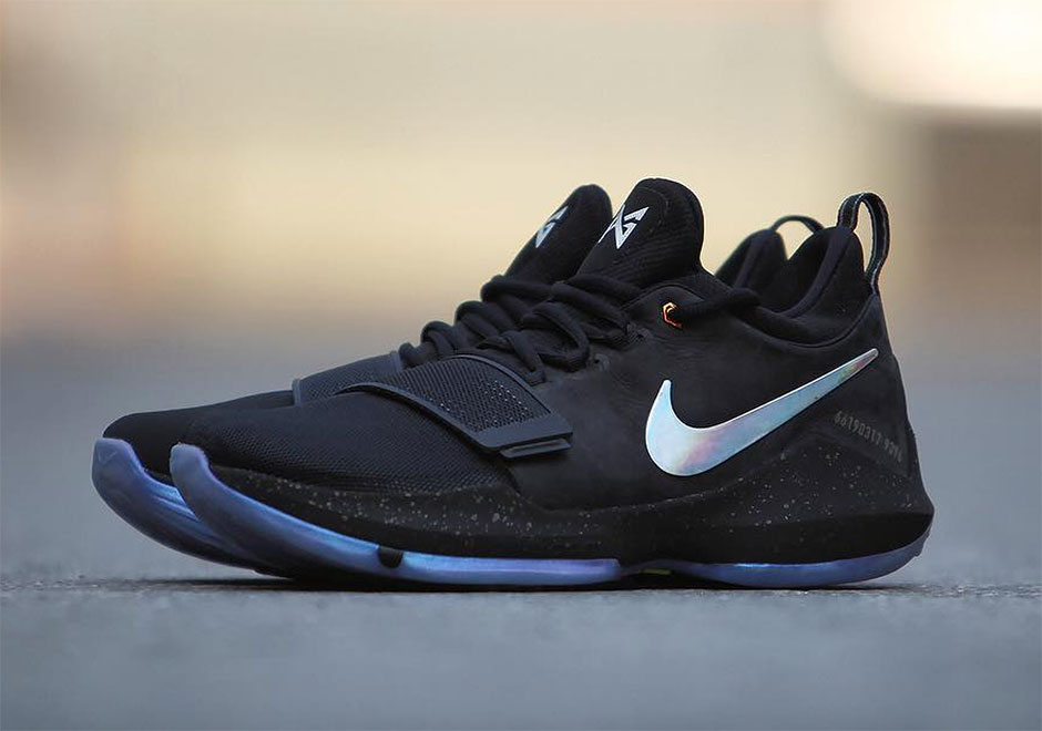 paul george shoes black