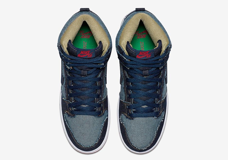 buy online 2fb1d 0d0df Nike SB Dunk High Denim Reese Forbes Release Date  SneakerNe