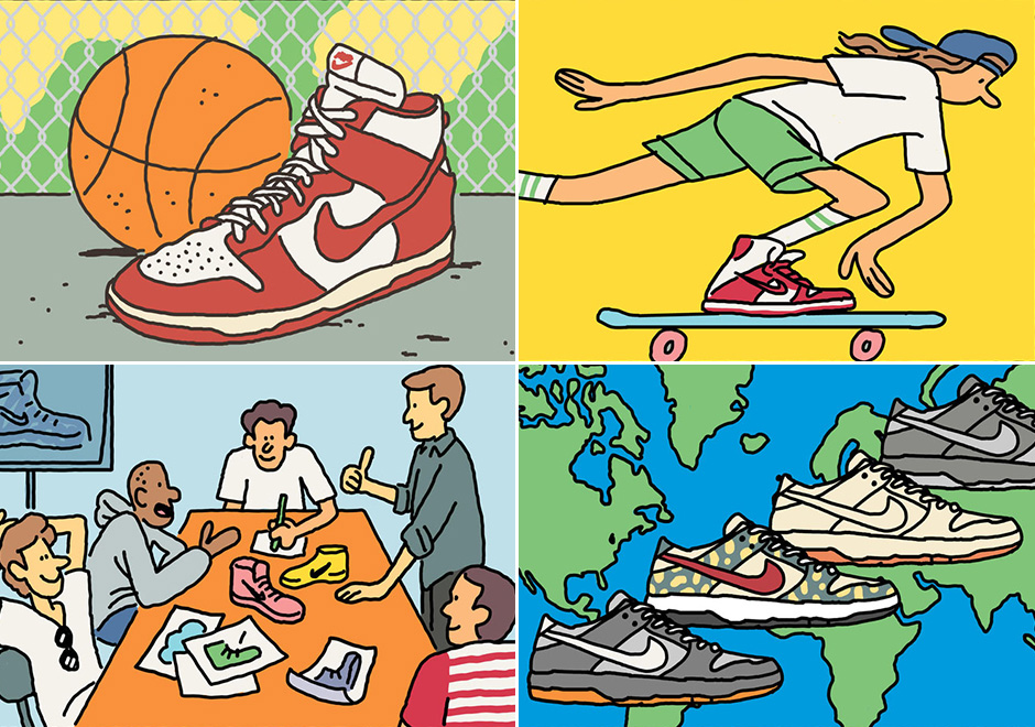 busto rechazo natural  A Visual History of the Nike SB Dunk   Gov