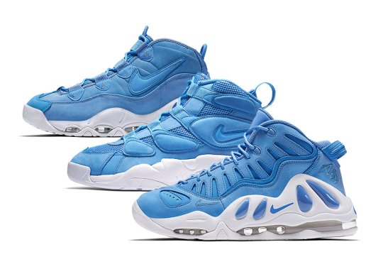 "The Nike Air Uptempo ""University Blue"" Pack Releases This Weekend"