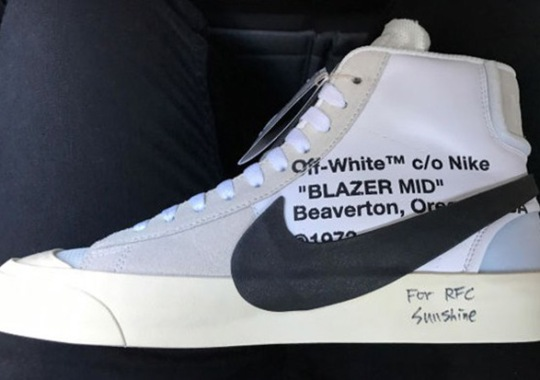 Off-White Redesigned The Nike Blazer