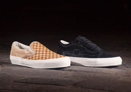 "Offspring Continues 20th Anniversary Celebration With Vans ""Pony Hair"" Pack"