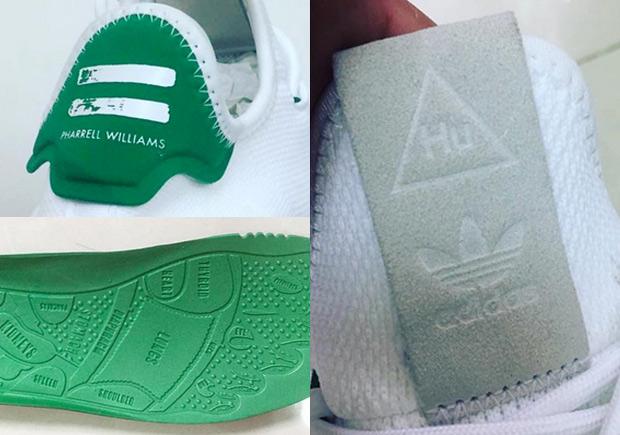b63bcbc13 Pharrell s Next adidas Human Race Shoe Resembles The Stan Smith