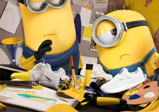 Puma And Minions Set To Release Collaboration In June