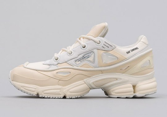 The Raf Simons x adidas Ozweego Bunny Releases In A Clean Cream White