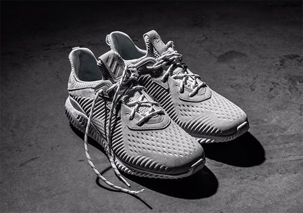 classic fit f633d eecdb A Closer Look At The Reigning Champ x adidas AlphaBOUNCE