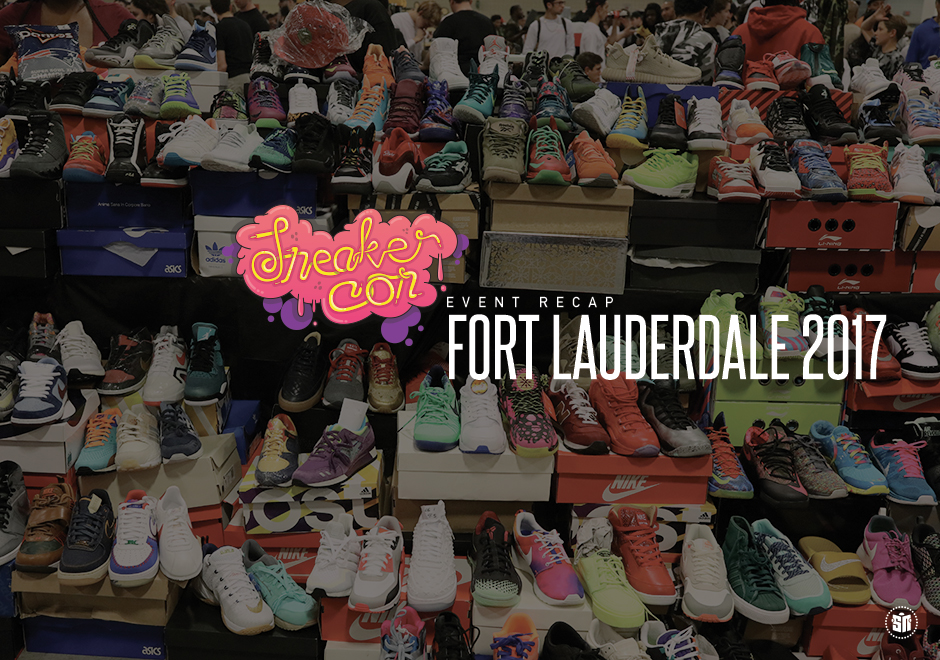 Sights And Sounds From Sneaker Con Fort Lauderdale