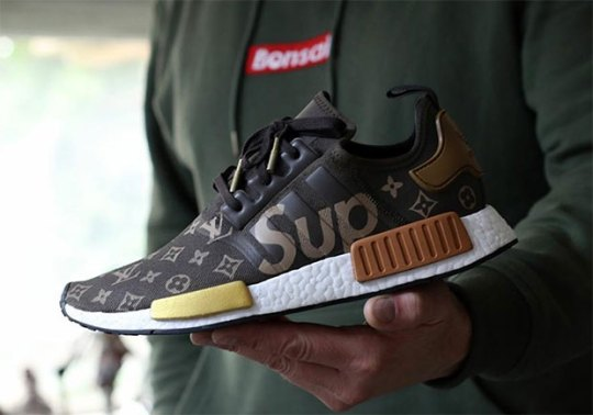 Dreaming Up A Supreme x Louis Vuitton x adidas NMD Collaboration
