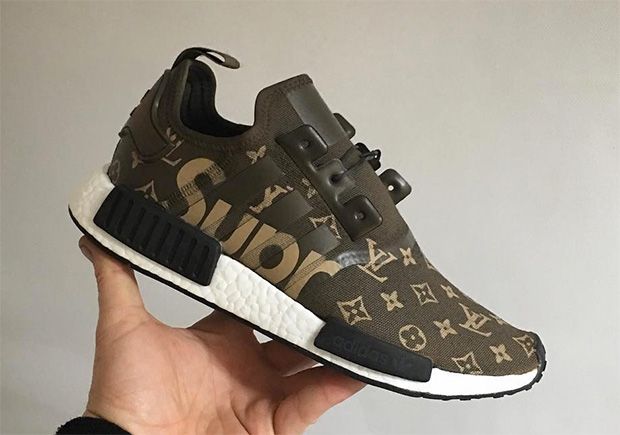 adidas NMD R1 Runner Mesh Trace Cargo Trail Olive Ba7249 Size