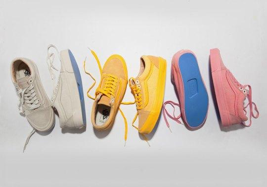 Union LA Designs Three Colorways Of The Vans Old Skool