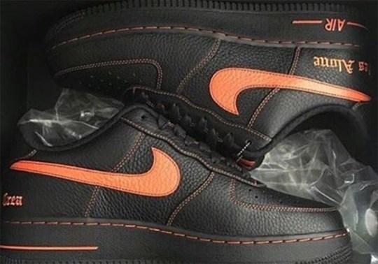 VLONE x Nike Air Force 1 Releasing Next Week