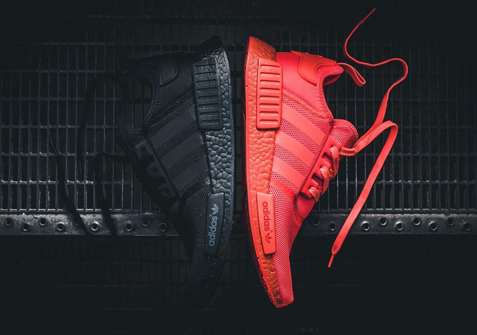 Adidas Nmd R1 Monochrome