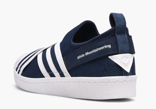 White Mountaineering Also Designed The adidas Superstar Slip-On