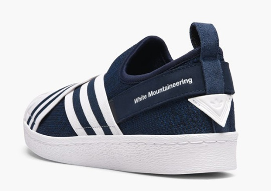 b1d37b98e78 White Mountaineering Also Designed The adidas Superstar Slip-On