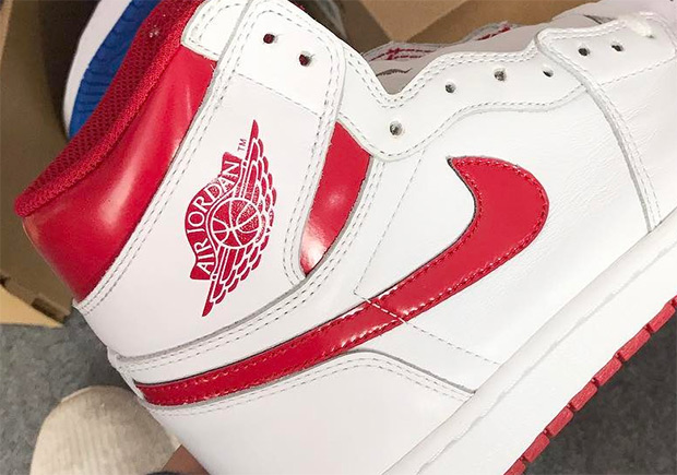 air jordan white red collection mill