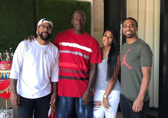 Marcus Jordan Shares Family Photos At Trophy Room
