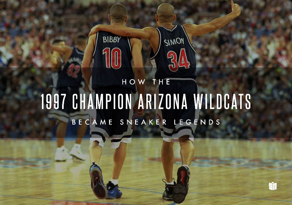 bf232777efb87 How the 1997 Champion Arizona Wildcats Became Sneaker Legends